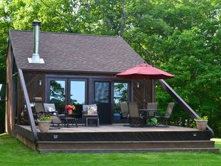 Upscale cozy cabin on big island lake minn vrbo for Big island cabins