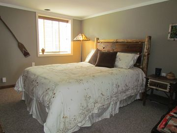 One of two spacious bedrooms - Queen Bed