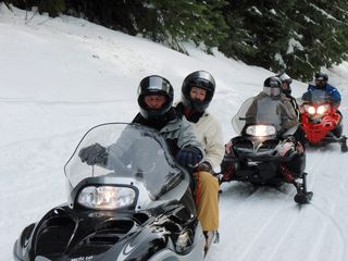 Government Camp condo photo - Snowmobile Tours with Mt. Hood Adventure