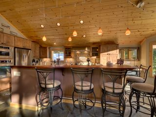 Carnelian Bay house photo - Kitchen Bar - seating for 5