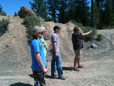 Shooting at the Rock Quarry