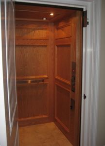 Boardwalk condo rental - Elevator