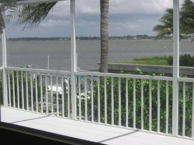 Unobstructed view of Bay from the lanai.