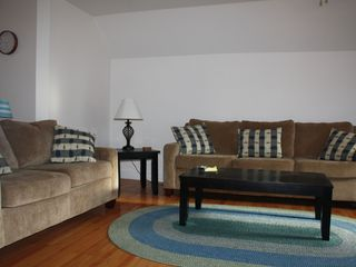 York Beach apartment photo - 2 Sofas in the living room has a great appeal for enjoyment and relaxation