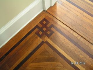 Cape Charles house photo - Original hand laid parquet floors on 1st and 2nd floors