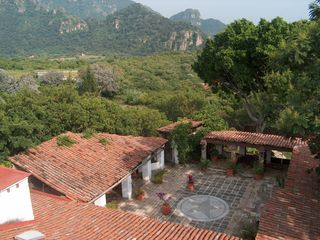 Tepoztlan estate photo - Overview of courtyard