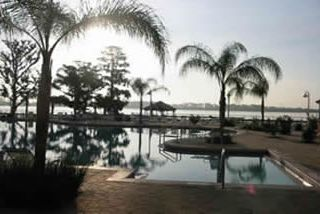 Lake Buena Vista condo photo - Pool at dusk - beautiful!