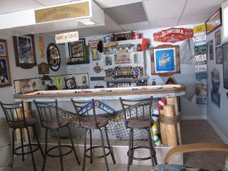 Harrison house photo - Newly Updated Bar at with a Fishing Peir Theme.