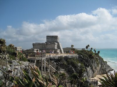 Tulum ruins only 20 minutes drive.