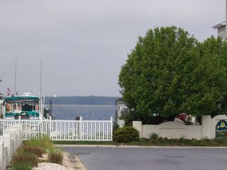 North Ocean City townhome photo - Looking towards Nantucket Point, across Madison Avenue, westerly direction/