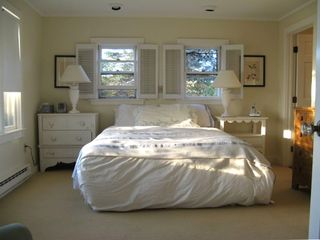 Master bedroom with private bath on first floor