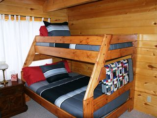 Pagosa Springs house photo - Sleep Three in Our Twin Over Full Bunk Bed In The Up Stairs Bedroom