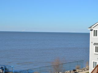 Port Clinton condo photo - our balcony view to the west