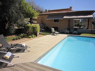 Family friendly villa, large garden and great outdoor living areas, walk to shop
