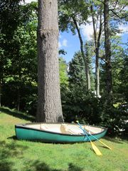 Jay Peak house photo - Complimentary use of our 3 person canoe and 2 single person kayaks.