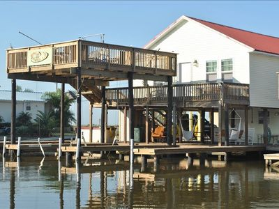 Luxury fishing hunting camp located in cocodrie la for Fishing camps for rent in louisiana
