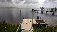 On the Gulf of Mexico with Floating docks!