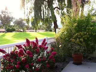 Palm Desert house photo - Beautifully maintained landscaping throughout the property.