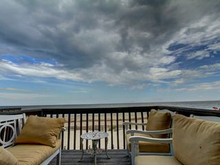 Tybee Island condo photo - Watch the dolphins swim by and the sun rise right out of the ocean. Amazing sky