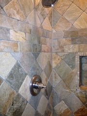 Provincetown condo photo - Custom Stone Shower