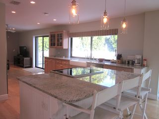 Vero Beach house photo - Open floor plan. Kitchen opens to living room, dining room and family room.