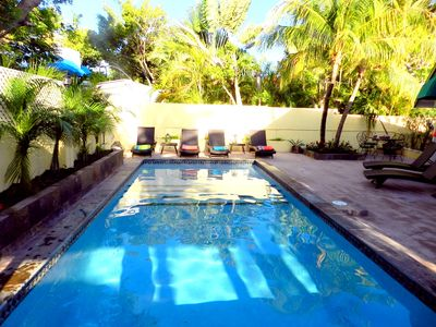 Casa Koyari's new pool is a lush tropical haven. ESCAPE. RELAX. SOAR
