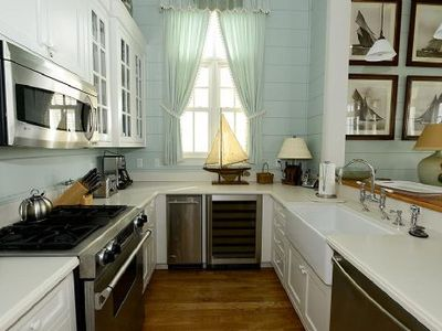 Wonderfully appointed kitchen.