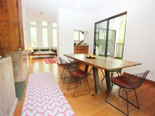 Sag Harbor house photo - Open plan dining area