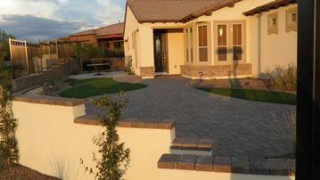 San Tan Valley house rental - Front view of home