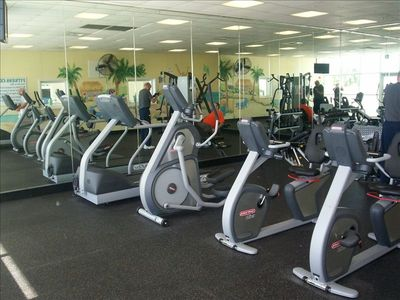 State of the Art Fitness Center with Free Weights, Machines, Treadmills and more