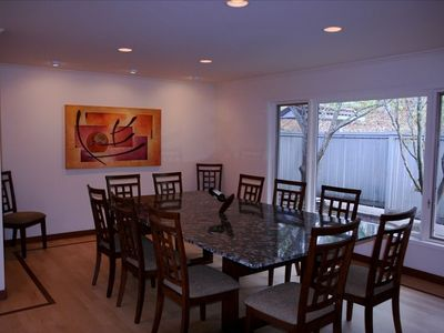 Dining Room with Places for Twelve People