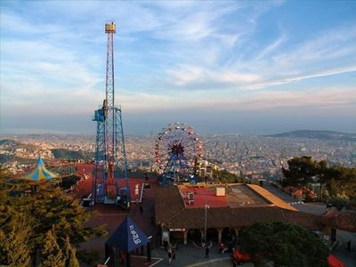 One of amazing views from Tibidabo