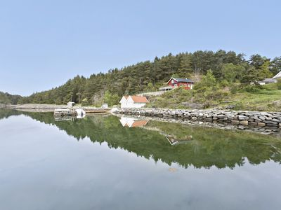 Cottage on the island of Talgje - own pier - seaside plot - stunning view - 10 beds