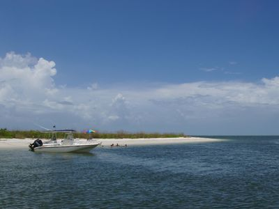Lovers Key State Park close by