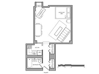Chelsea apartment photo - Apartment Floor Plan