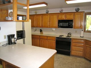 Spokane chalet photo - Kitchen (Second half with pantry around the left)