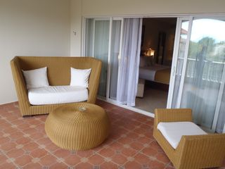 Playa Cofresi condo photo - Comfortable Veranda Seating