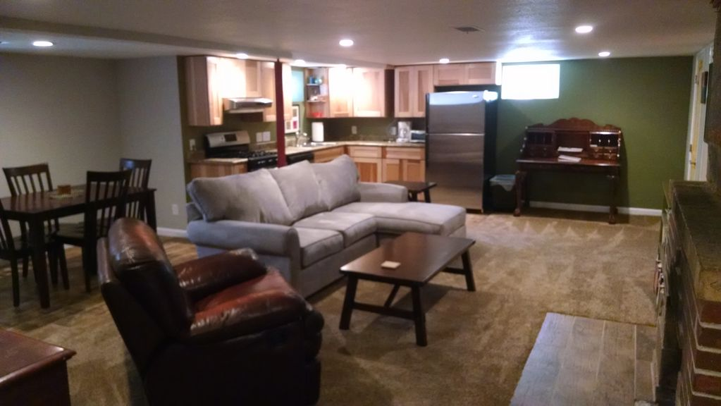 Cozy mother in law apartment in the heart of vrbo for Mother in law apartment
