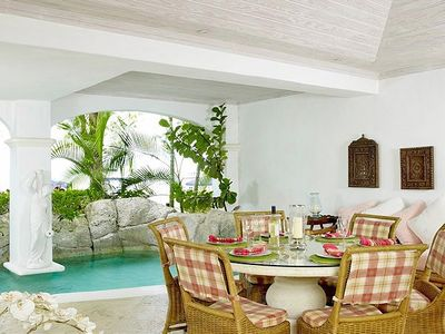 Paynes Bay condo rental - Outdoor Dining Area