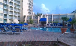 Isla Verde condo photo - pool area