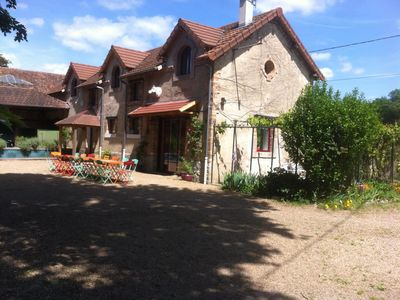 Group accommodation in the heart of France