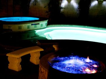 Las Vegas house rental - FIRE RING, POOL & SPA