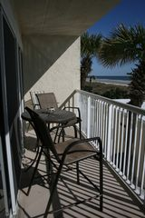 Jacksonville Beach condo photo - Moving outdoors...enjoy the private balcony.