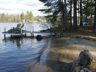 Sturbridge cottage photo - Private Beach and Dock