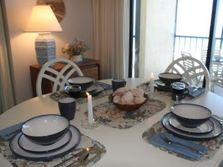 Boca Grande condo photo - Dining Area Overlooking the Beach