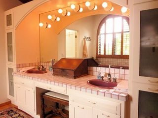 La Jolla house photo - His and Hers sinks, soaking tub and separate shower