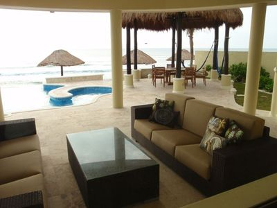 Pool Veranda and Dining Palapa