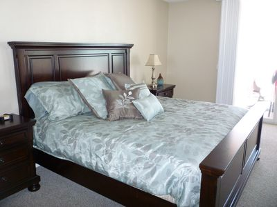 Madeira Beach condo rental - King Size Master Suite
