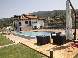 Fuscaldo villa photo - South view of the infinity pool