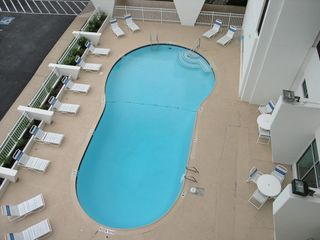 Galveston condo photo - Pool and lounge area for owners and renters only.